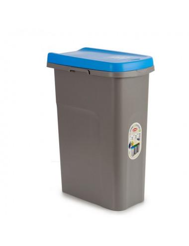 Cestino Azzurro Plastica 25L
