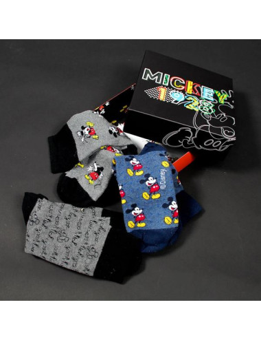 Socks Mickey Mouse (3 uds)...